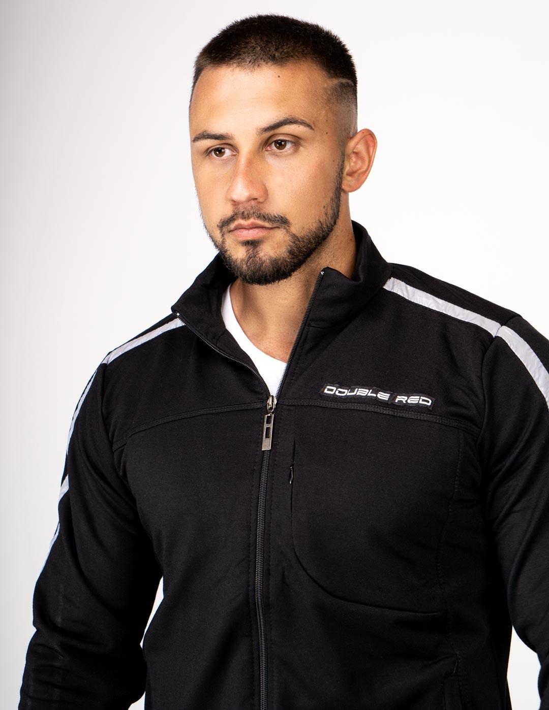 SweatShirt BROOKLYN Black/Grey