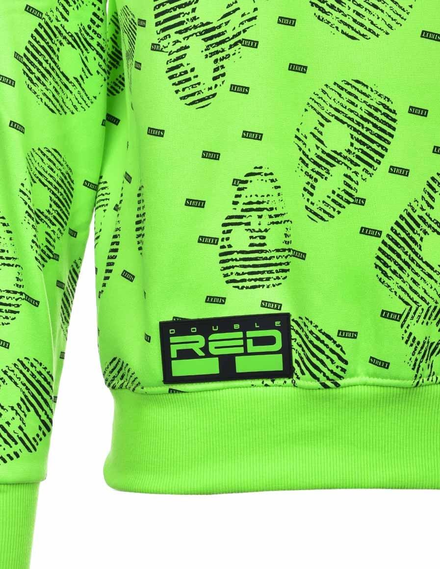 Hoodie I REDMAN School Street Edition Neon Green