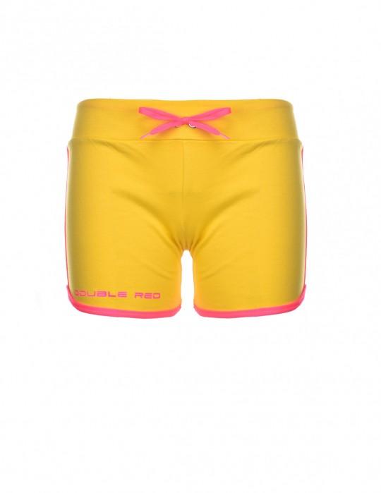 DOUBLE RED Women's Short Neon Yellow
