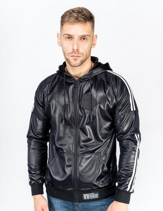 SHADE Leather Jacket B&W Edition