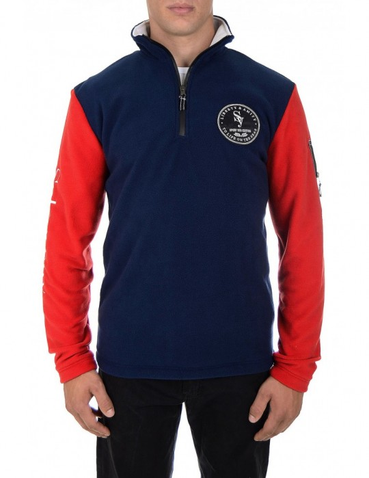 SEAMAN 100% FINE FLEECE CLOSURE JACKET