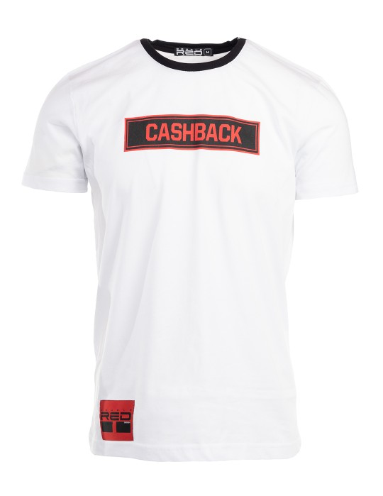T-Shirt CASHBACK White