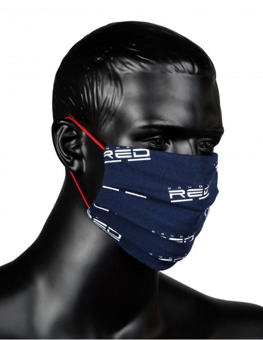 Mascherina sportiva Full Logo Blue