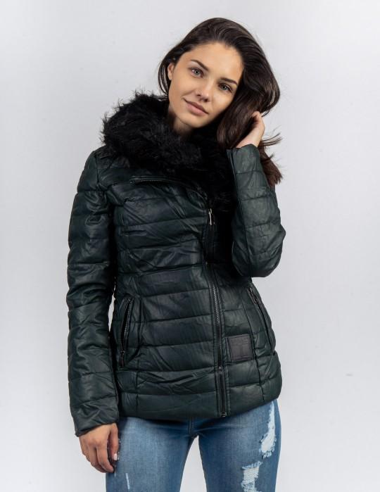 EXQUISIT SHORTCUT Jacket Dark Green
