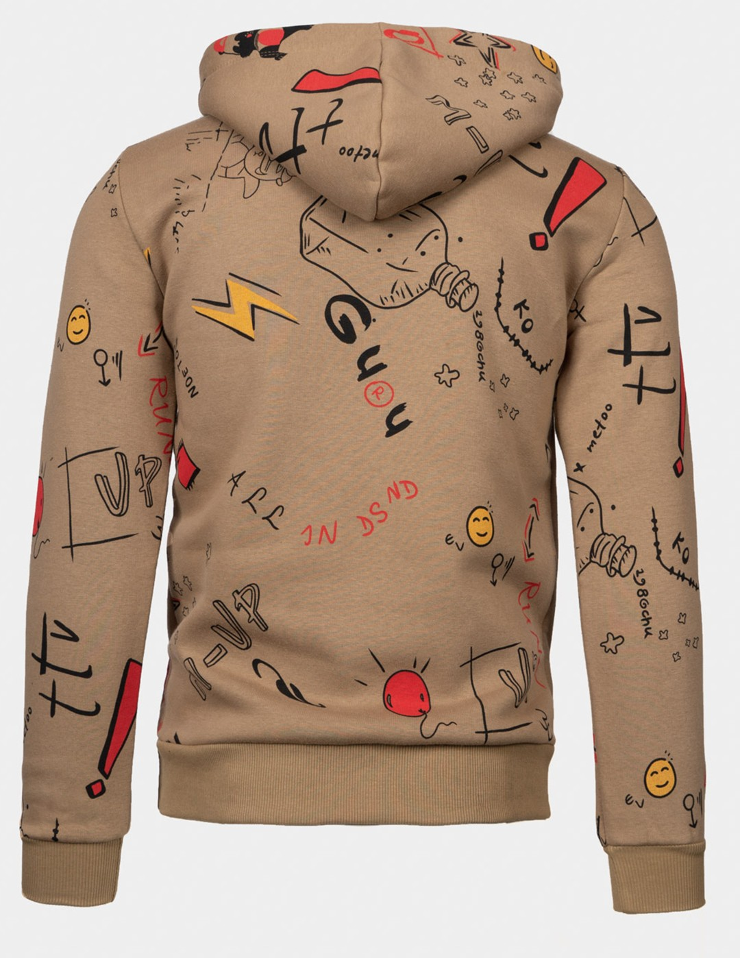 DOUBLE FUN TRADEMARK Hoodie Brown