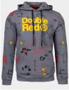DOUBLE FUN TRADEMARK Hoodie Grey
