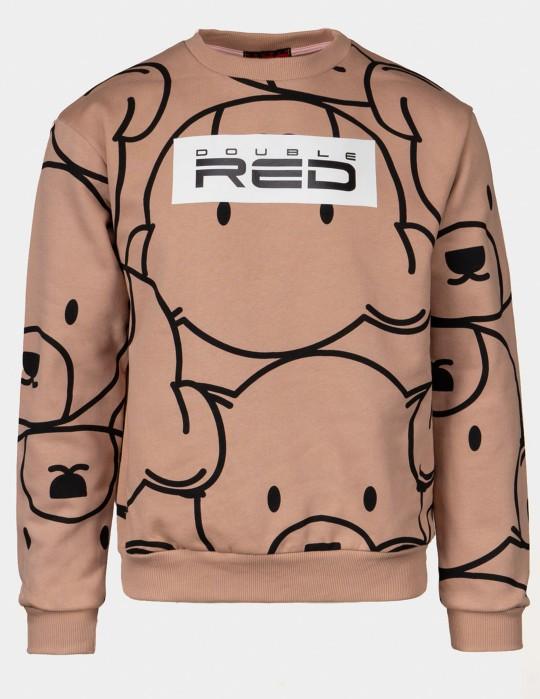 TEDDY Sweatshirt Salmon