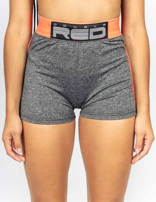 Shorts SPORT IS YOUR GANG Function Sport Grey/Neon Orange