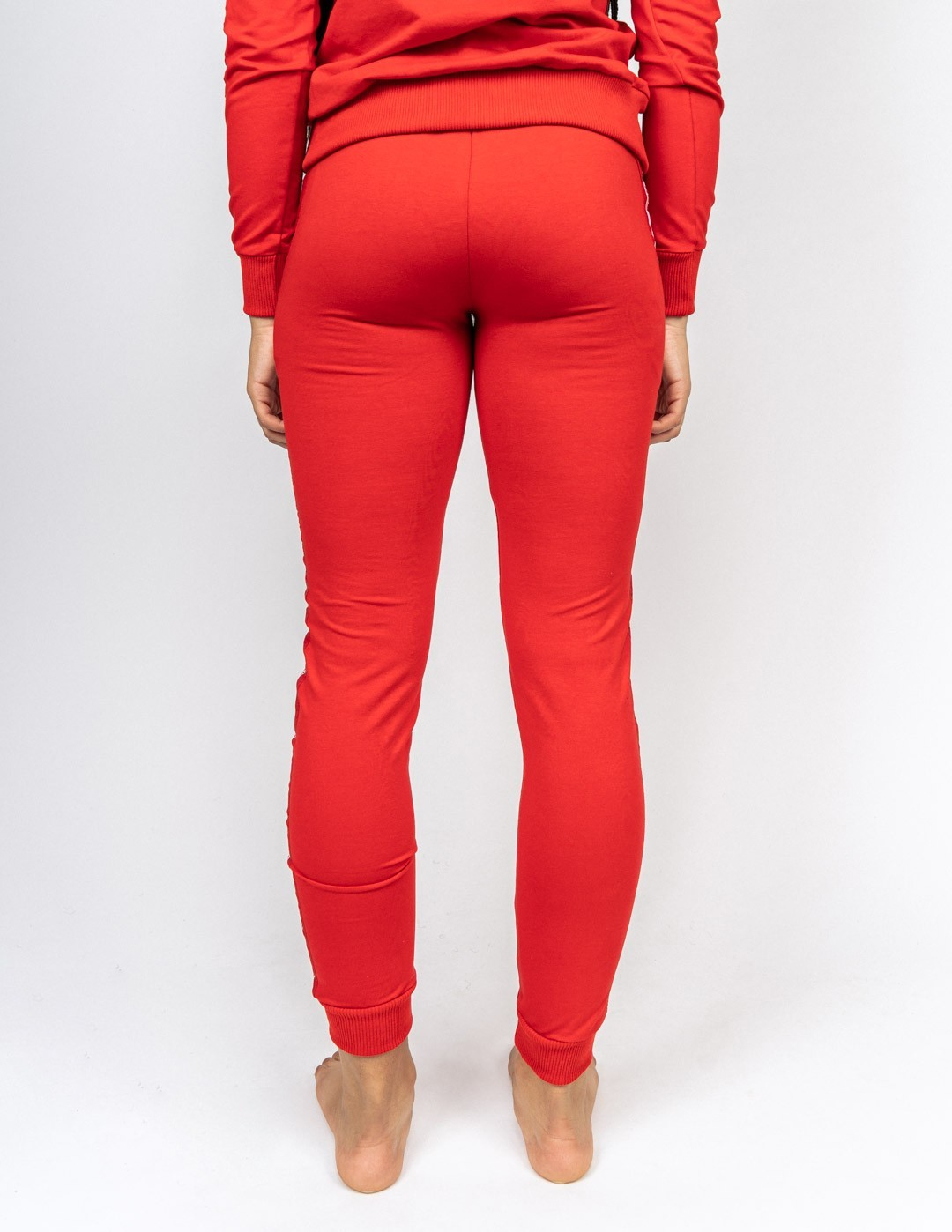 Tracksuit Bottoms EMINENCE All Logo Red