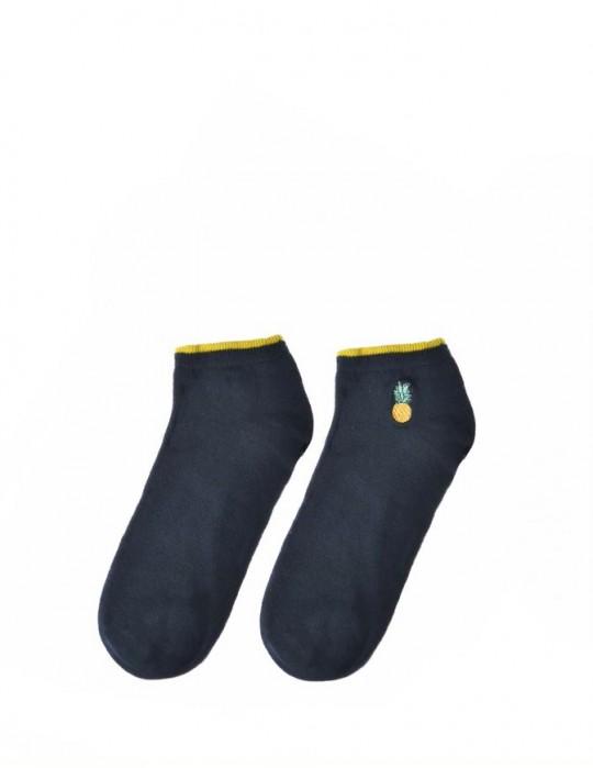 Men's FUN Low Cut Socks Ananas