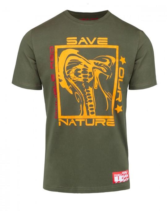 Natural Predators Cobra T-Shirt Khaki
