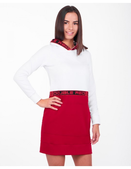 EMINENCE WHITE RED DRESS