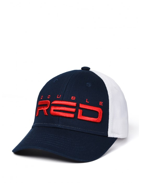 DOUBLE RED Airtech Mesh Cap Blue/White