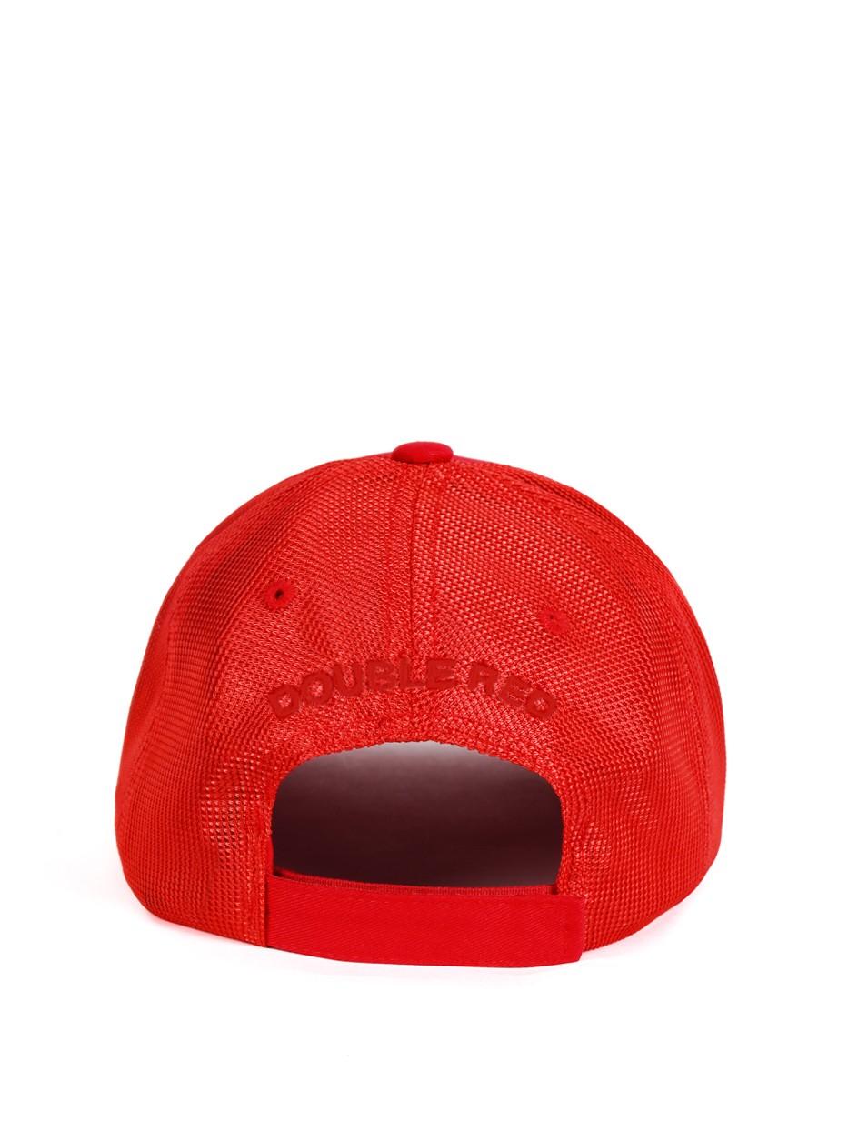 DOUBLE RED Trademark Trucker Cap ALLRED