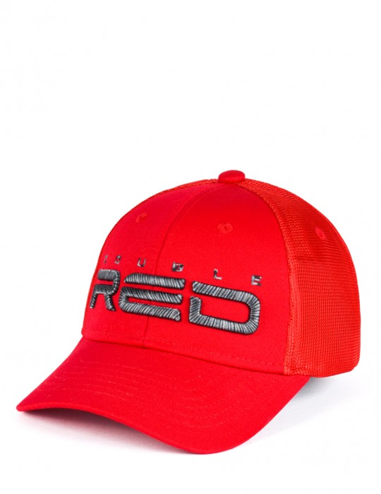 Tiger Edition All Logo Red Cap