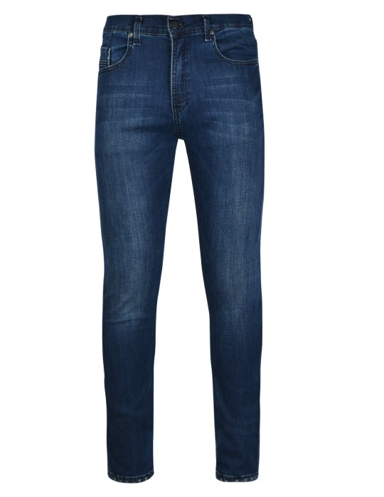 RED JEANS Regular Dark Blue Skinny Fit