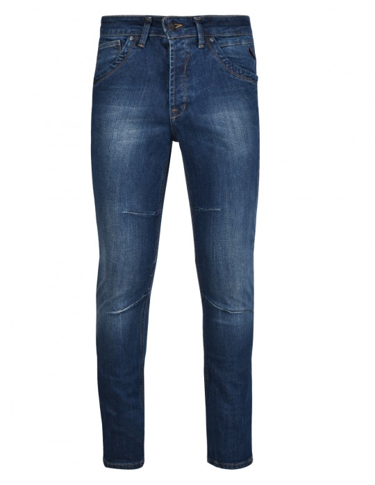 RED JEANS Scar Blue Skinny Fit