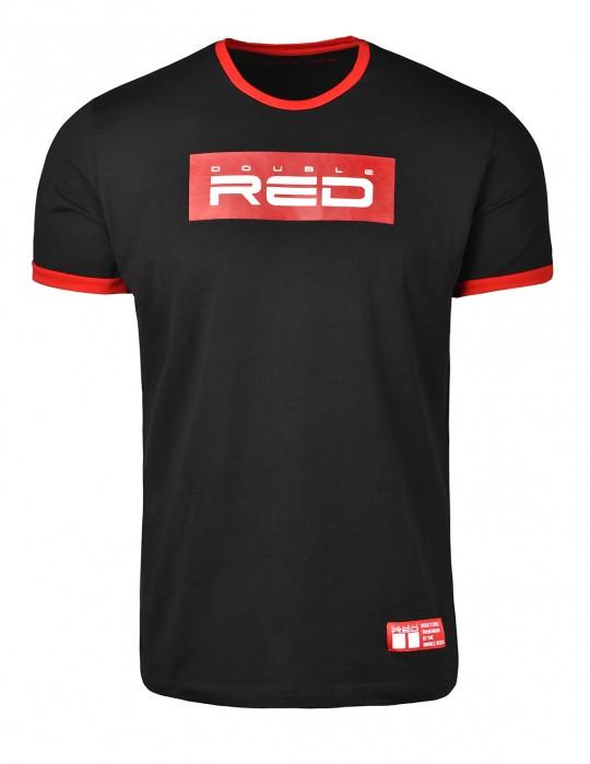 T-Shirt LOGO VISION Black/Red