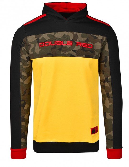 Sweatshirt CAMOCODE Black/Yellow