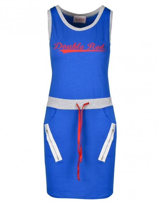 Street Babe Sports Dress Light Blue