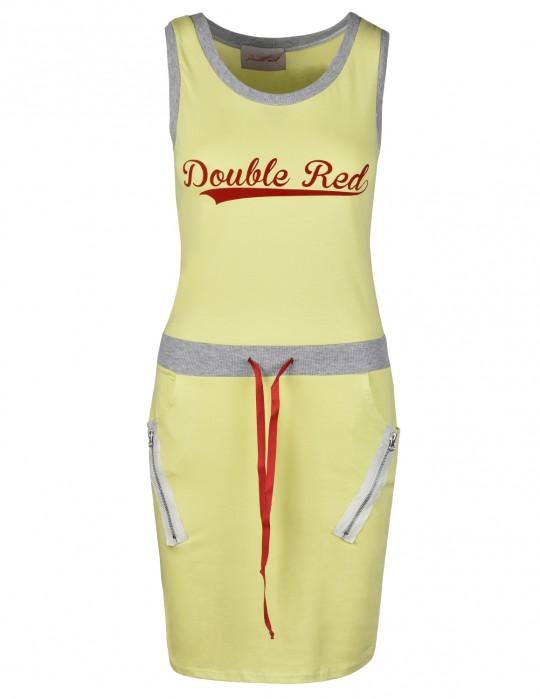 Street Babe Sports Dress Yellow