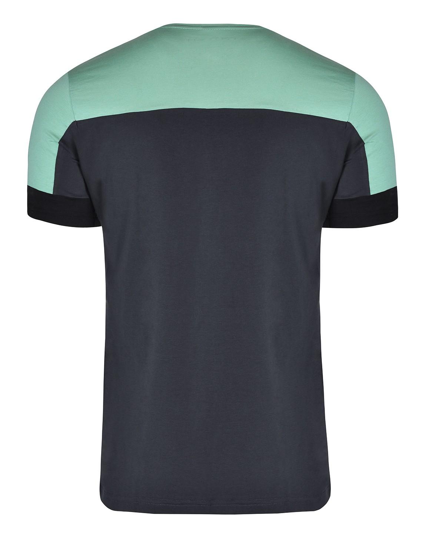 T-shirt GLORIOUS Mint/Dark Grey