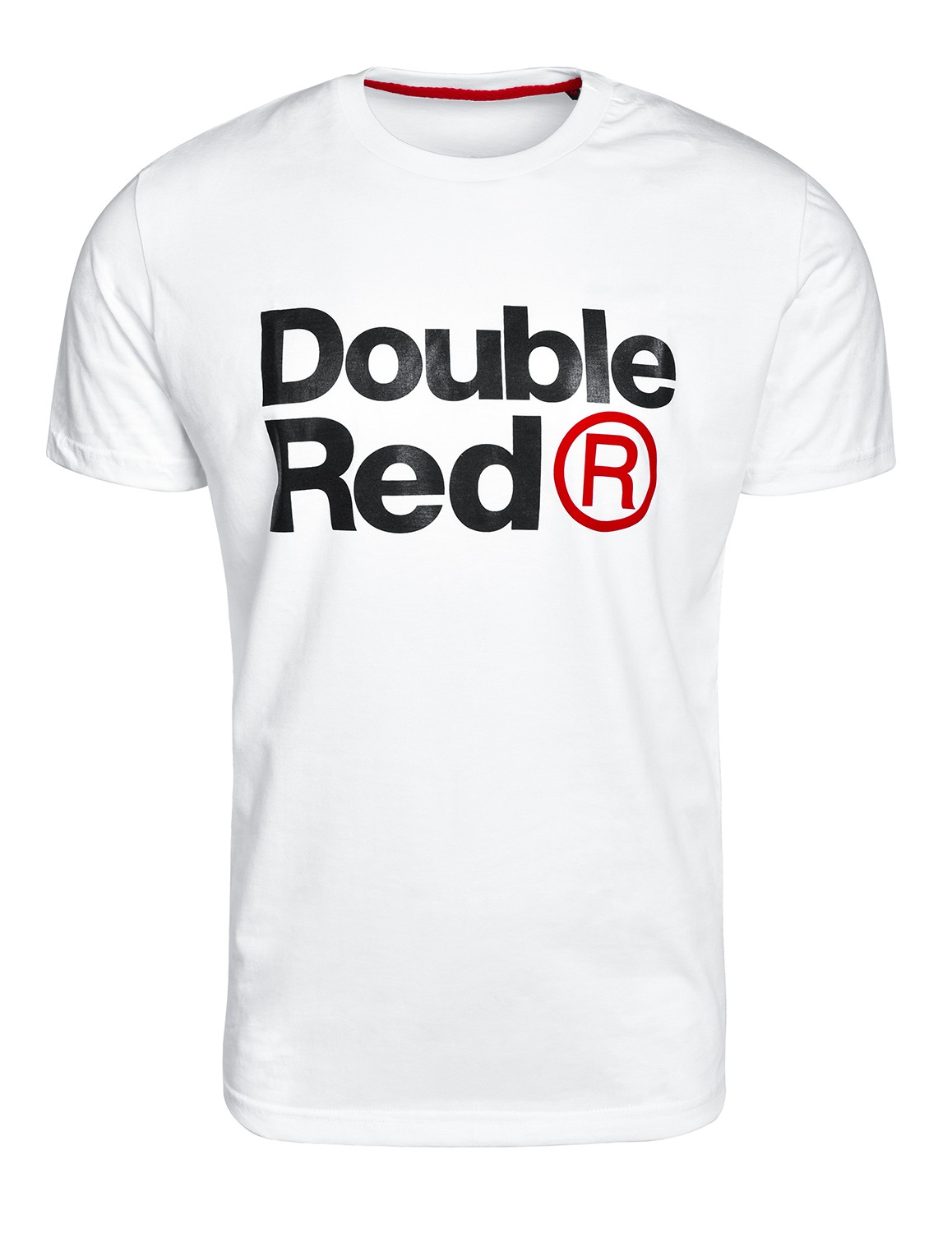DOUBLE RED Trademark T-shirt White