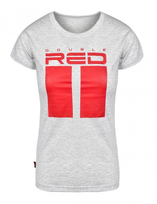 T-shirt ALL LOGO Melange Grey