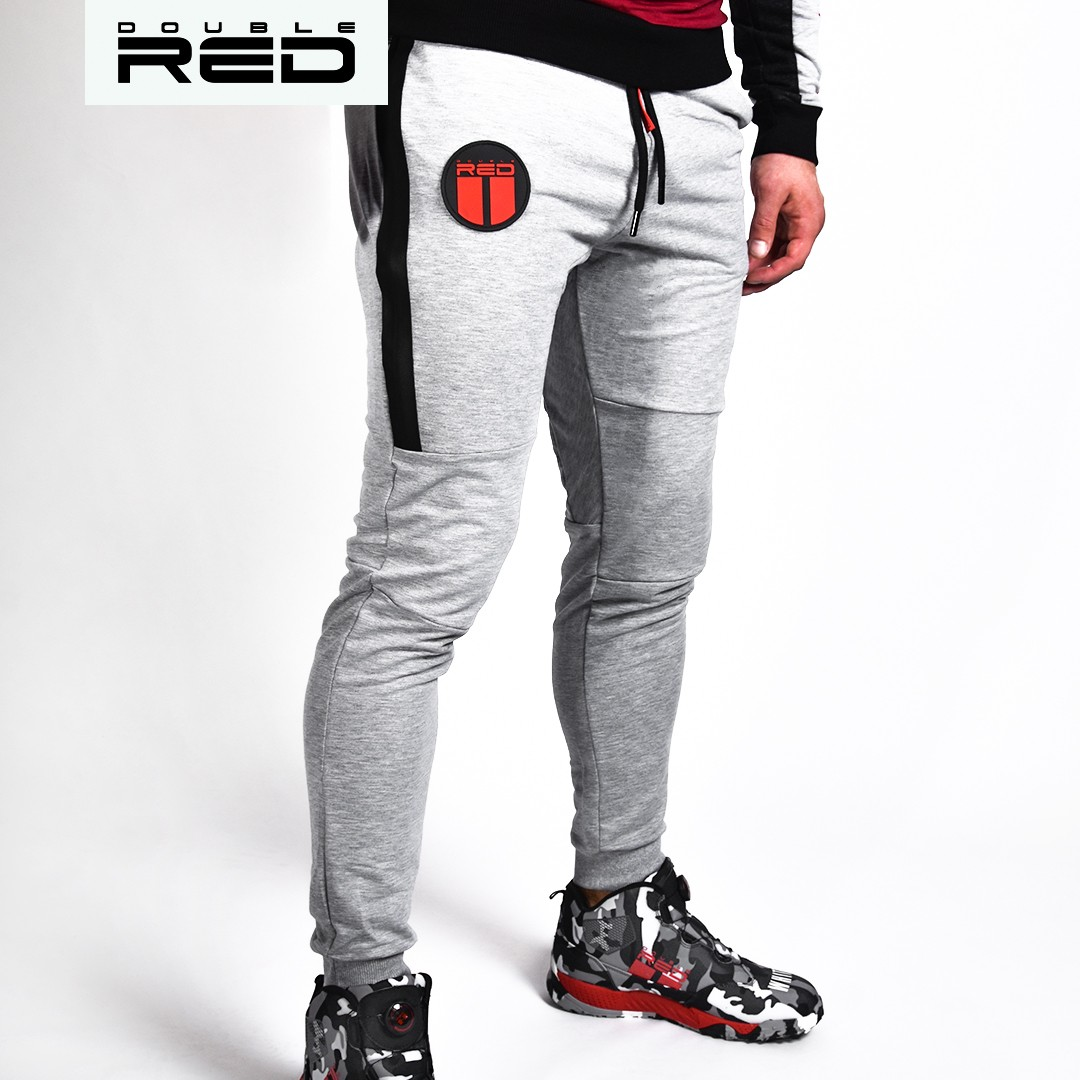 Sweatpants Sport Is Your Gang Melange Light Grey