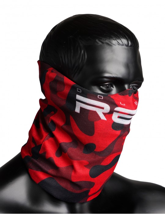 RED SQUAD Snood Red Hell