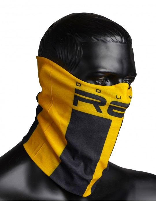 RED SQUAD Snood Yellow