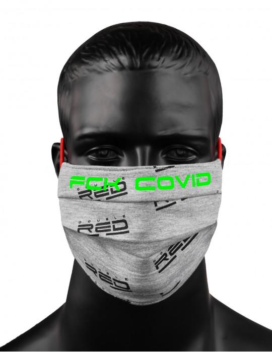 REDLIVE RESCUER FCK COVID Grey