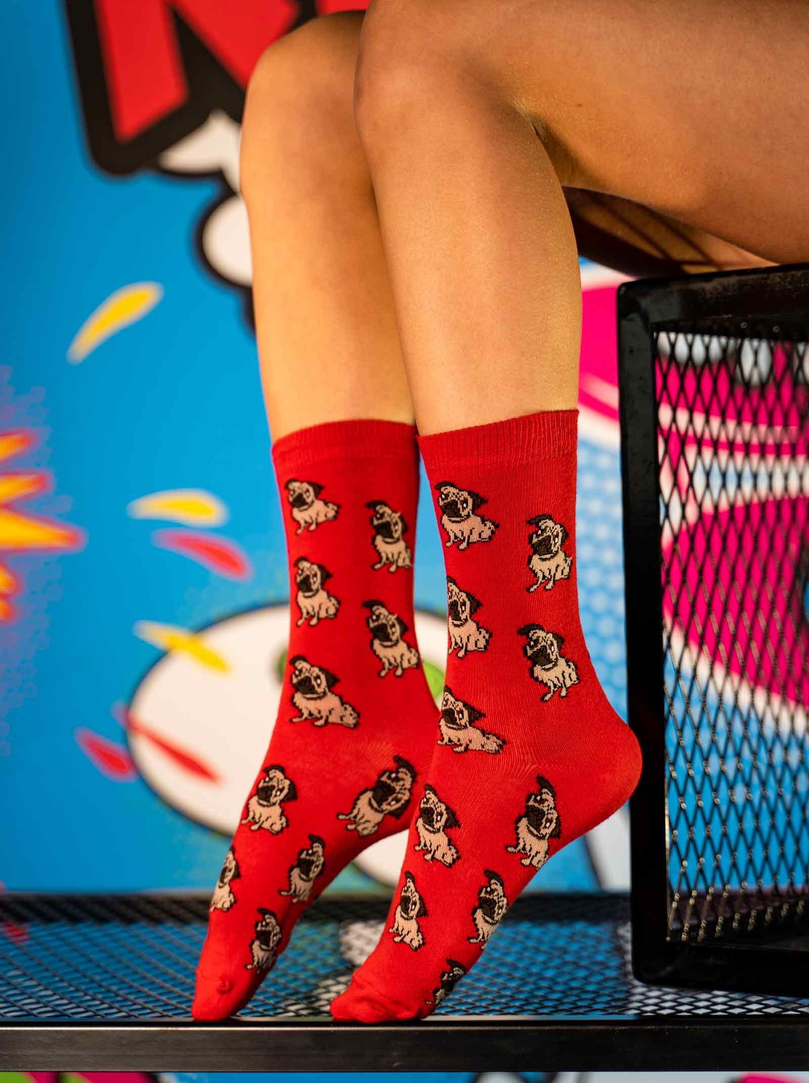 DOUBLE FUN Socks Mops