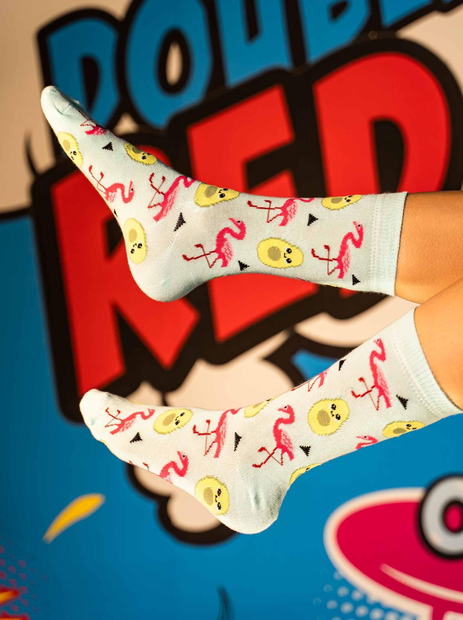 DOUBLE FUN Socks Flavocado